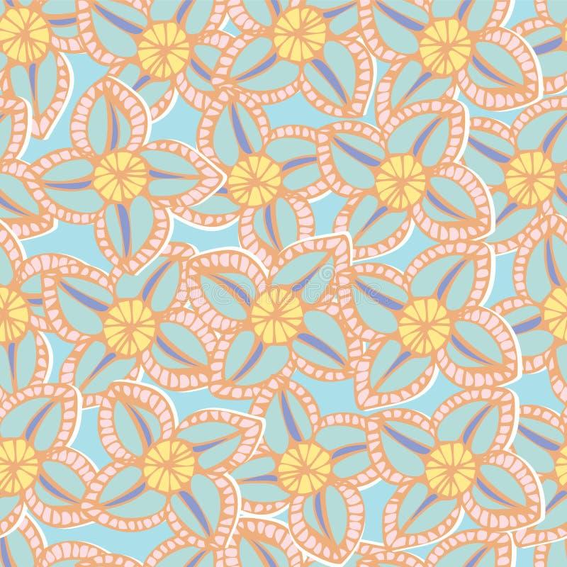 Download 五颜六色的花背景的无缝的样式 向量例证. 插画 包括有 艺术, 重复, 设计, 抽象, 颜色, 背包, 五颜六色 - 30331458