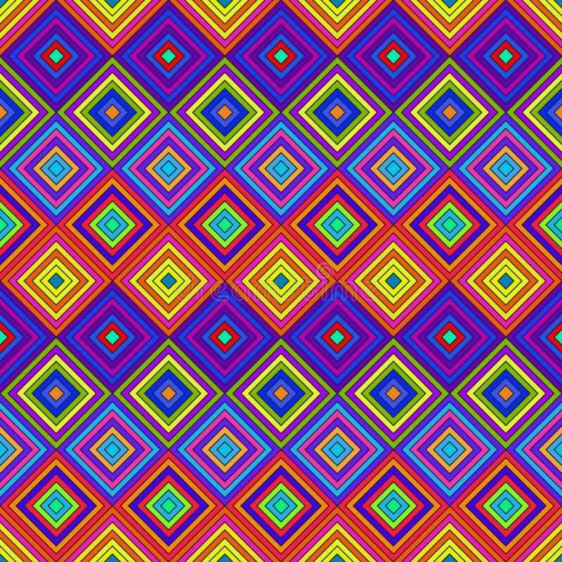 五颜六色的荧光的样式 向量例证