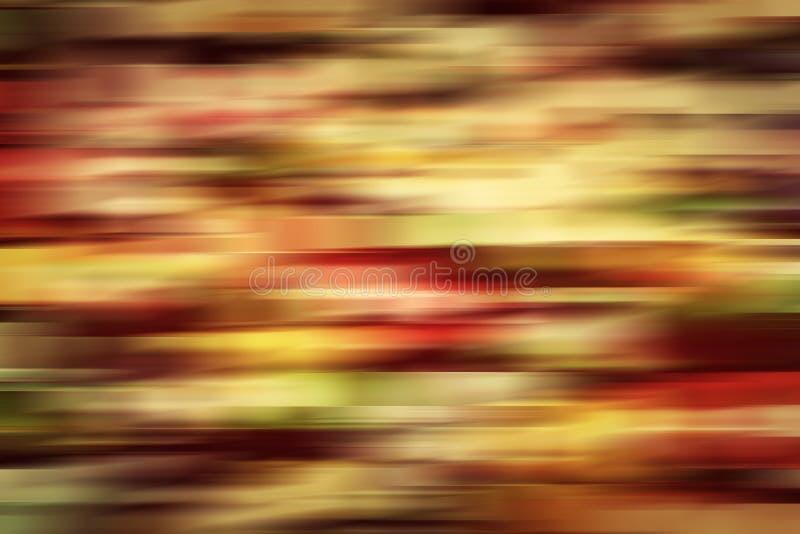 五颜六色的葡萄酒行动迷离摘要背景 库存照片
