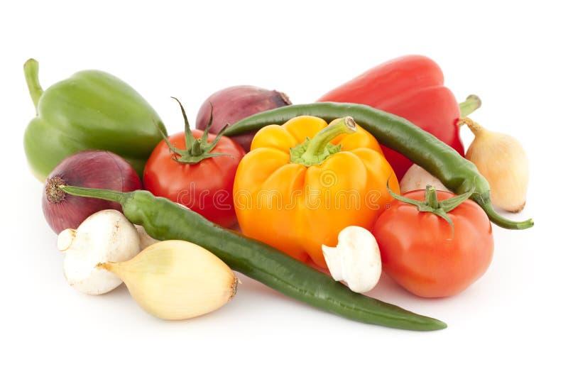 五颜六色的蔬菜 库存图片