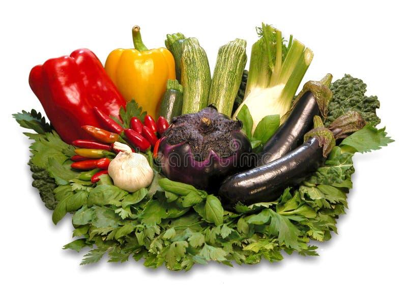 五颜六色的蔬菜 免版税图库摄影