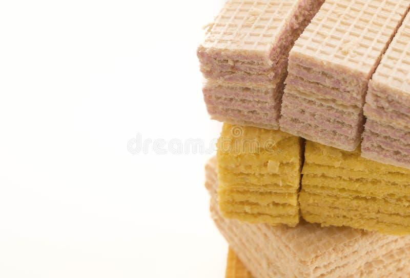 五颜六色的薄酥饼 图库摄影
