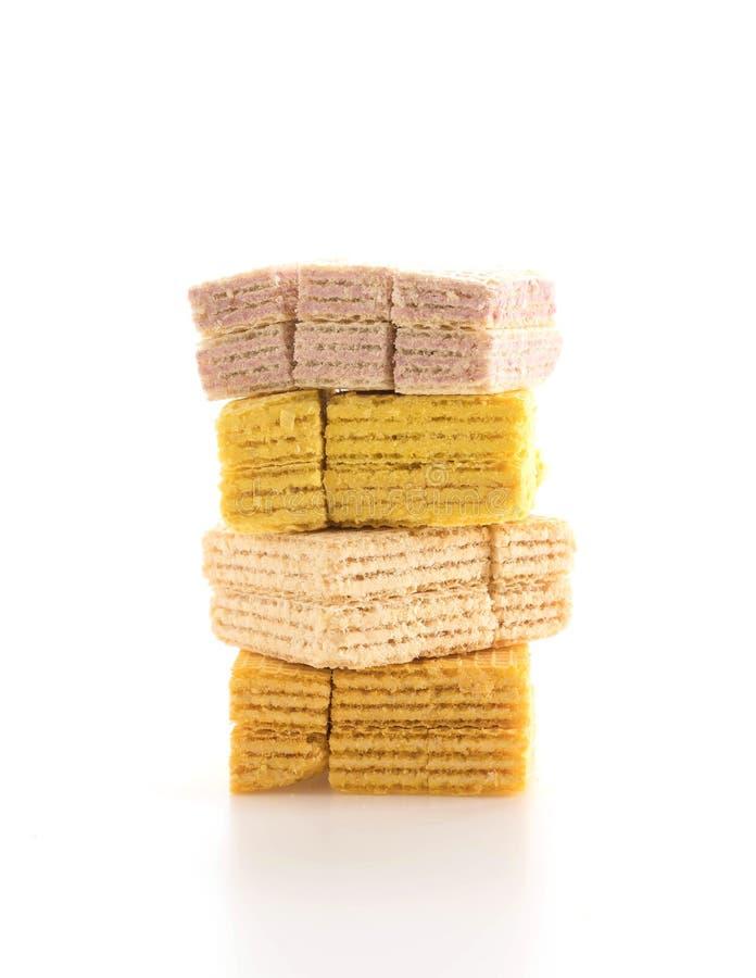 五颜六色的薄酥饼 免版税库存图片