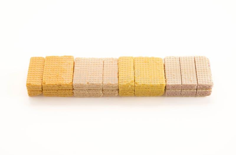 五颜六色的薄酥饼 免版税库存照片