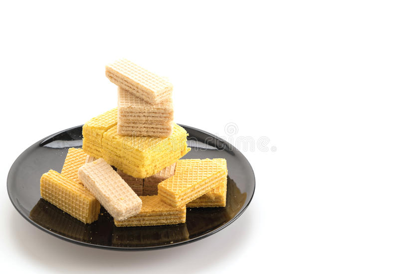 五颜六色的薄酥饼 库存图片