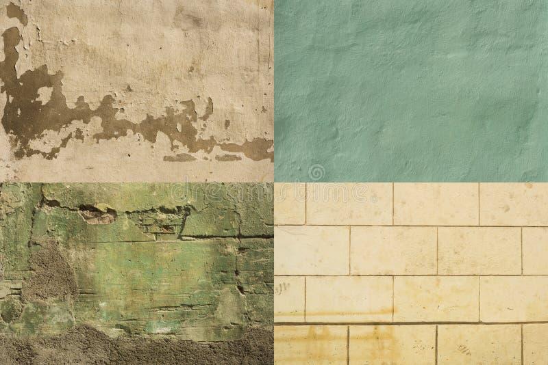 五颜六色的被佩带的墙壁哈瓦那#1 库存照片