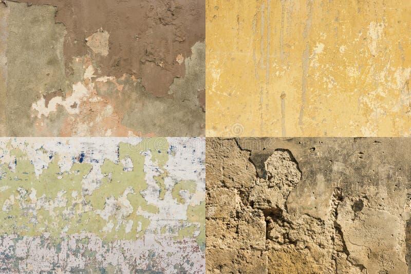 五颜六色的被佩带的墙壁哈瓦那#4 库存图片