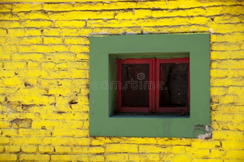 五颜六色的视窗 库存图片