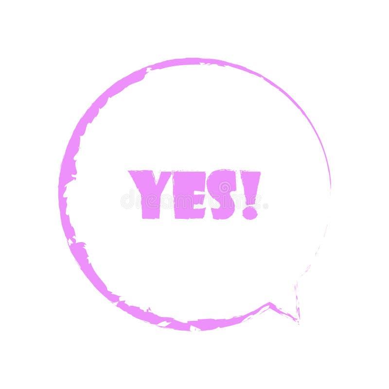 五颜六色的讲话泡影 与短信传染媒介例证的泡影 设置横幅的泡影,广告 库存例证
