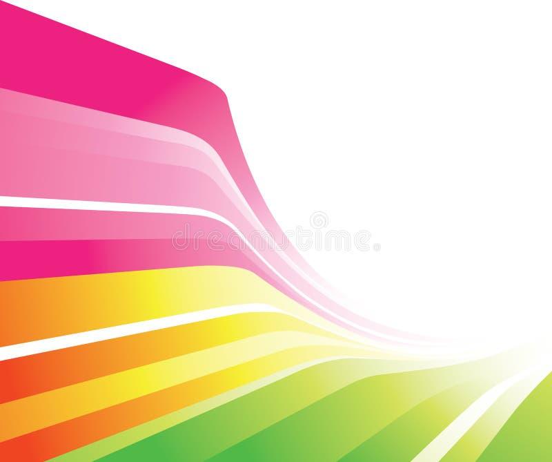 五颜六色的设计 向量例证
