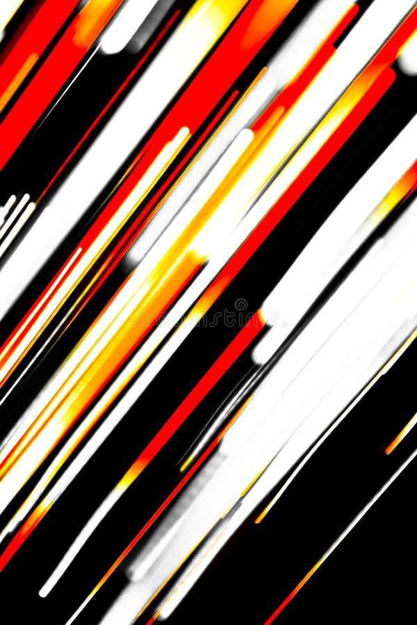 五颜六色的说明的线路 库存照片