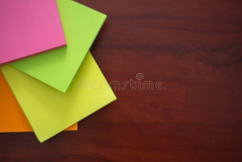 五颜六色的贴纸, 免版税库存照片