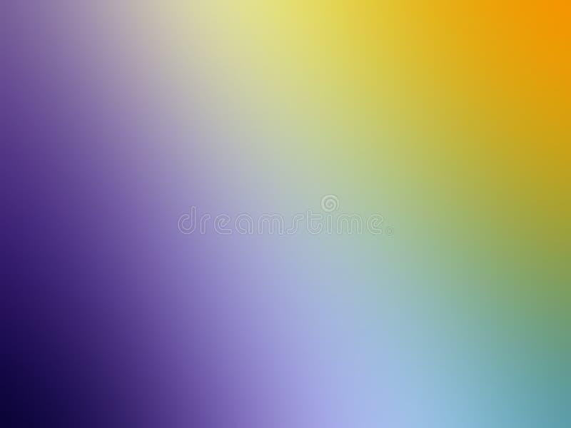 五颜六色的迷离摘要背景传染媒介设计,五颜六色的被弄脏的被遮蔽的背景,生动的颜色传染媒介例证 图库摄影