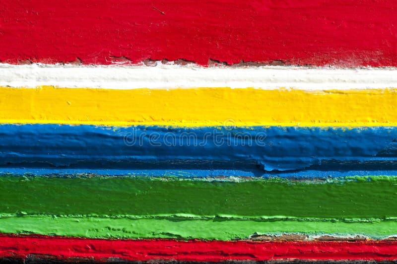 五颜六色的颜色数据条 免版税库存图片