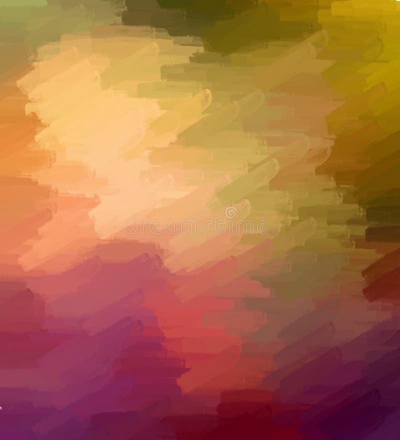 五颜六色的织地不很细背景-抽象数字式绘画 库存例证