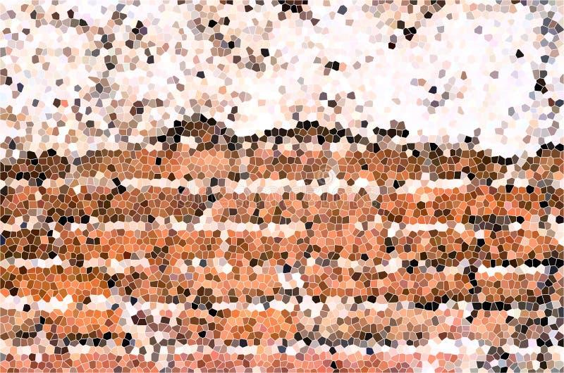 五颜六色的玻璃被弄脏的纹理向量 向量例证