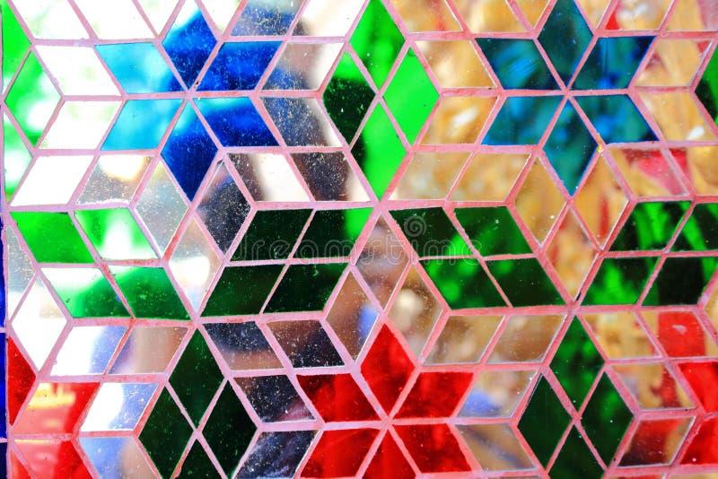 五颜六色的玻璃 图库摄影