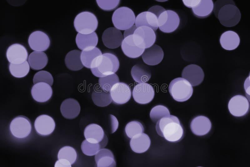 五颜六色的bokeh紫外 免版税库存图片