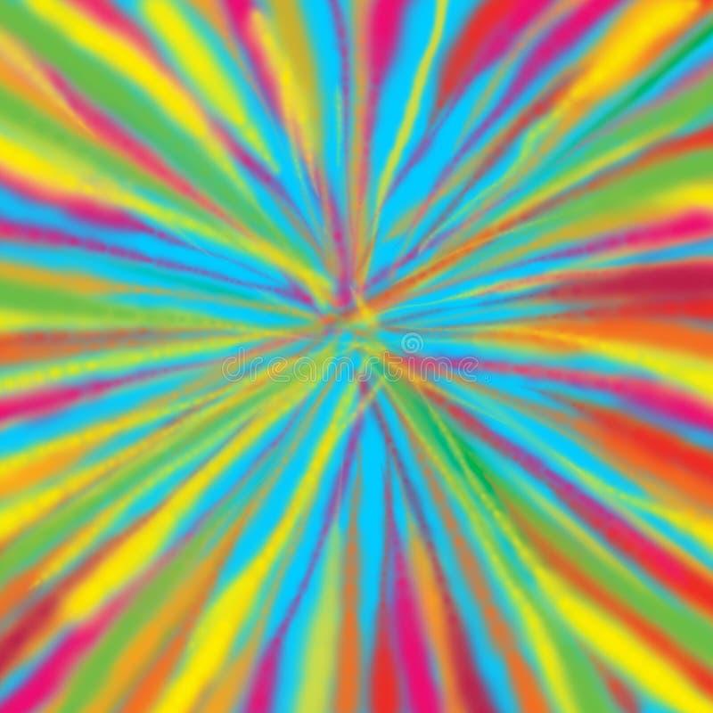 五颜六色聚合艺术纹理 皇族释放例证