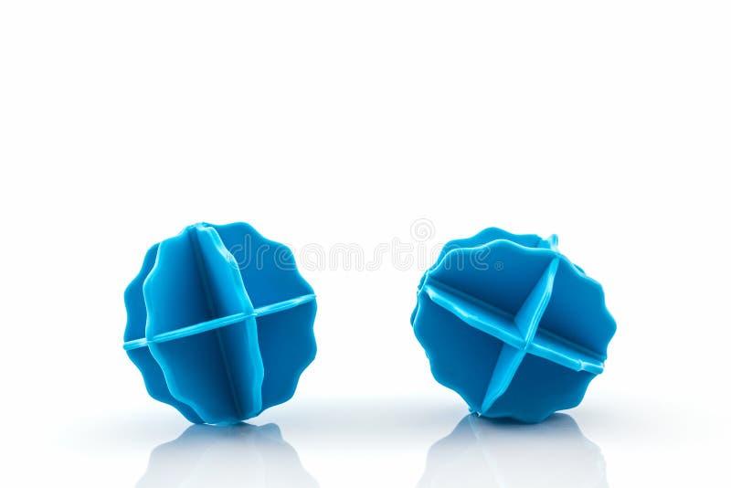 五颜六色洗涤的球,塑料球 免版税图库摄影