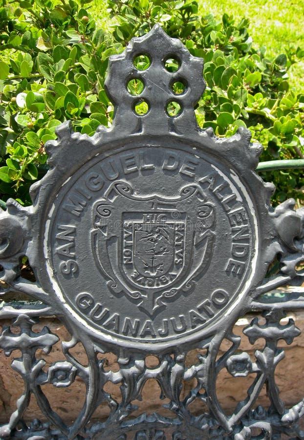 亚伦得・ de guanajuato米格尔・圣符号 免版税图库摄影