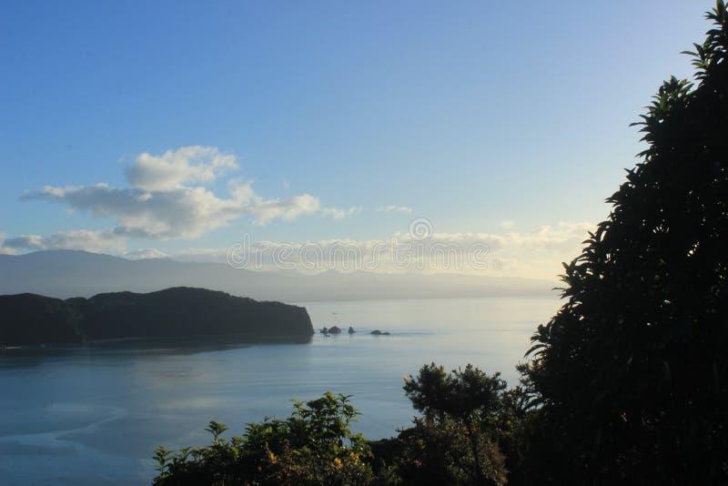 亚伯国家新的公园tasman西兰 免版税图库摄影