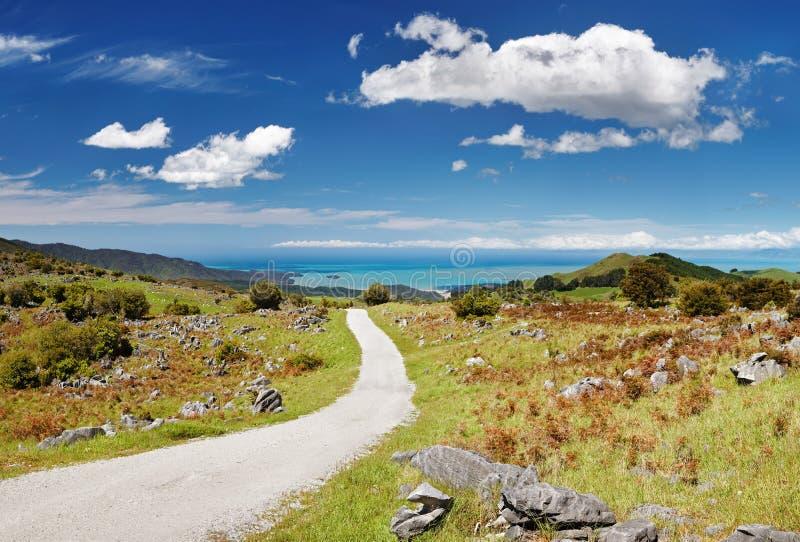 亚伯国家新的公园tasman西兰 免版税库存照片