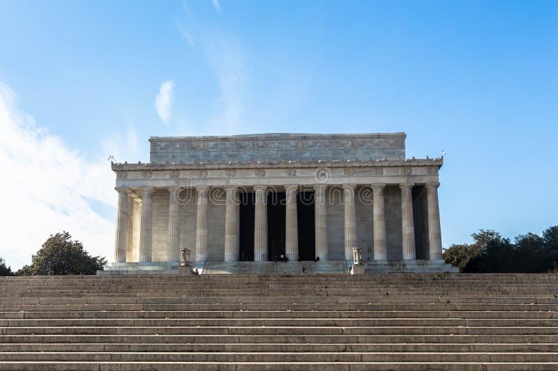 亚伯拉罕・林肯纪念品 免版税库存照片