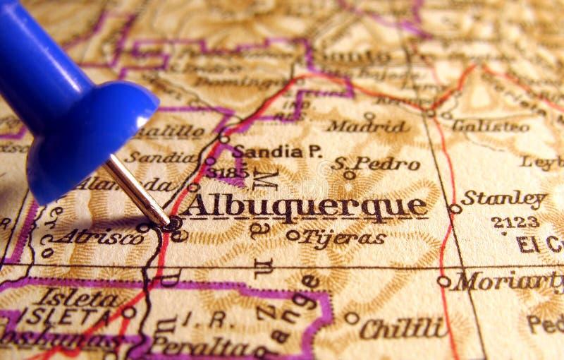 亚伯科基新的墨西哥 免版税库存照片