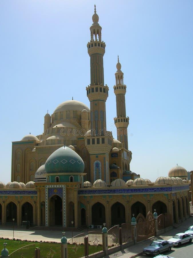 亚利尔哈亚特清真寺阿尔贝拉,伊拉克 库存图片