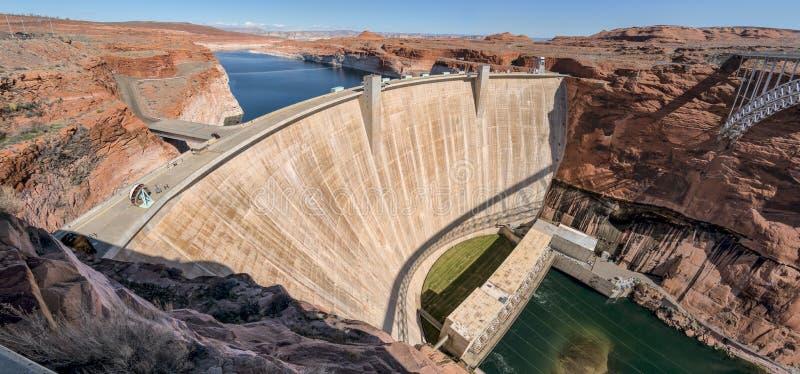 亚利桑那峡谷水坝幽谷页 免版税库存图片