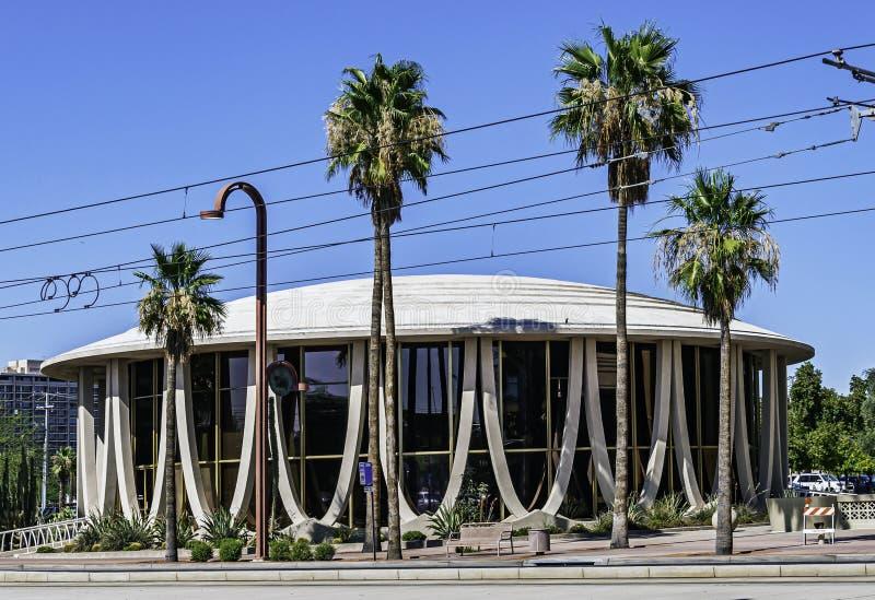 亚利桑那州凤凰城Shepley Bulfinch大厦特写 免版税库存照片