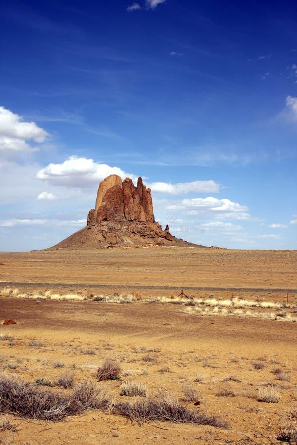 亚利桑那放牧地带岩石 免版税图库摄影