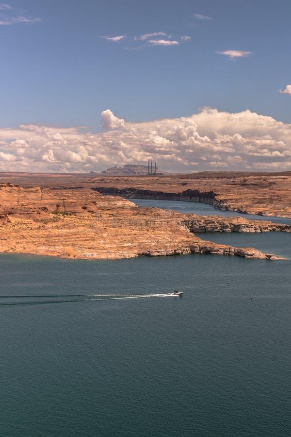 亚利桑那湖powell 图库摄影