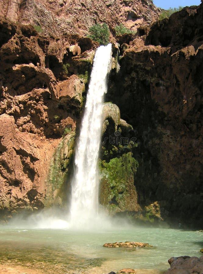 亚利桑那瀑布 免版税图库摄影