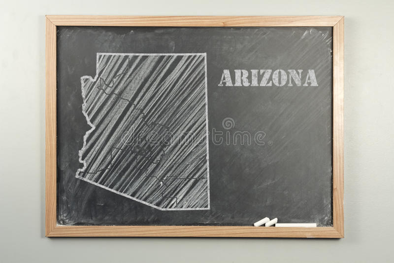 亚利桑那状态 免版税库存图片