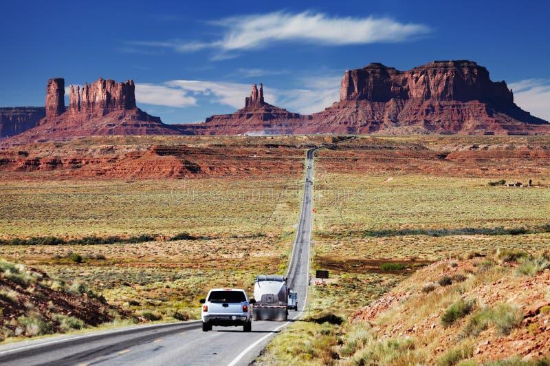 亚利桑那纪念碑美国谷 库存图片
