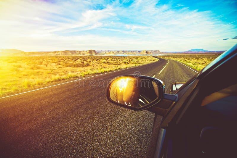 亚利桑那风景驱动 免版税库存图片