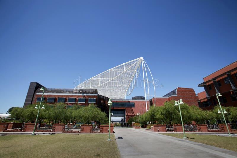 亚利桑那bio5大厦大学 免版税库存照片