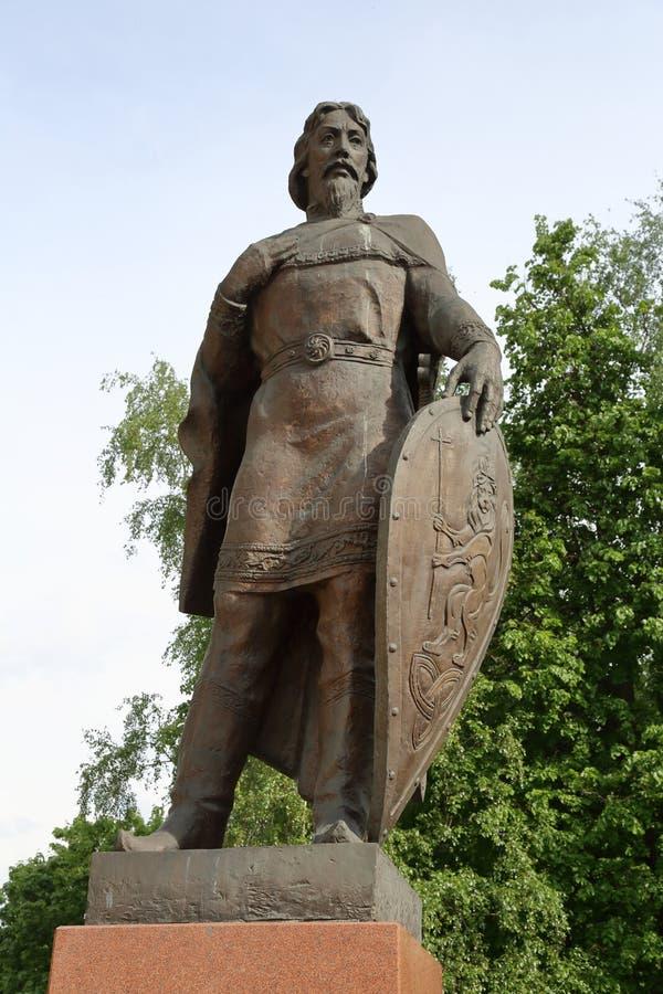 亚历山大・涅夫斯基,弗拉基米尔,俄罗斯王子 库存照片