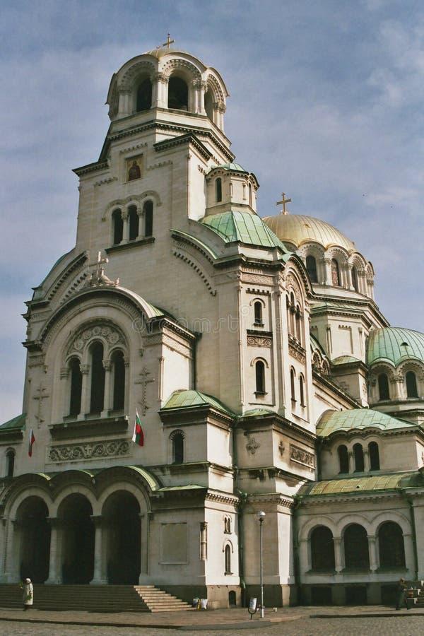 亚历山大大教堂nevsky st 免版税库存照片