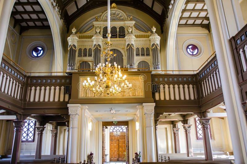 亚历山大教会 库存图片