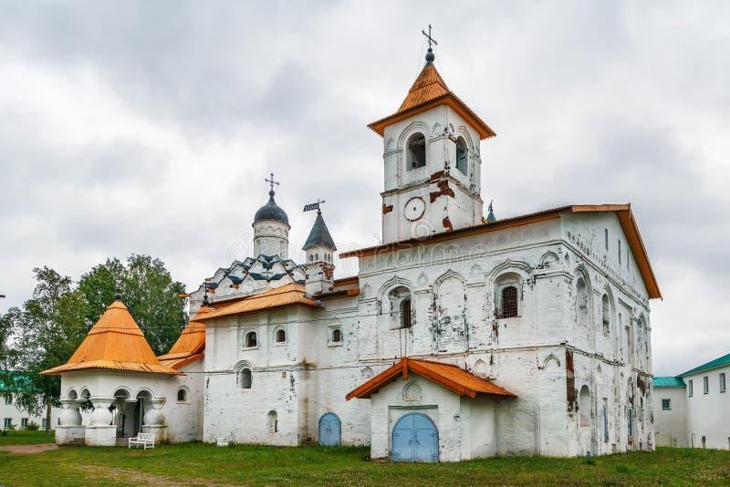 亚历山大Svirsky修道院,俄罗斯 库存图片