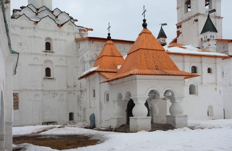 亚历山大Svirsky正统修道院 库存照片
