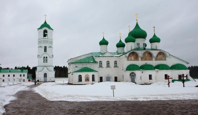 亚历山大Svirsky正统修道院 免版税库存图片
