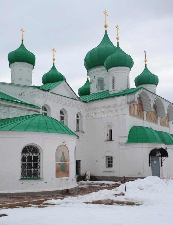亚历山大Svirsky正统修道院 库存图片