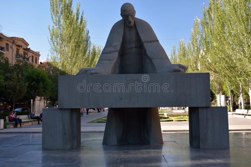 亚历山大Tamanian纪念碑 库存图片