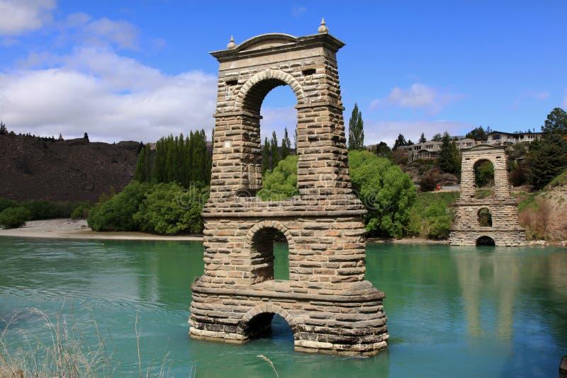 亚历山德拉的第一桥梁反射 免版税库存照片