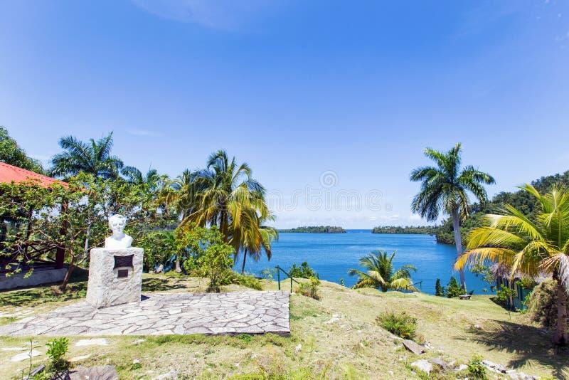 亚历杭德罗・德洪堡国家公园在古巴 免版税库存图片