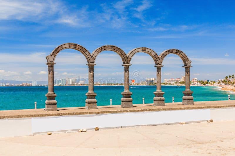 巴亚尔塔港,哈利斯科州,墨西哥 免版税库存图片
